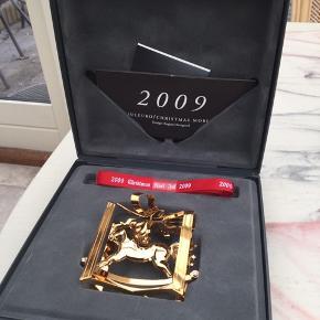 George Jensen juleuro original æske , flot bånd og indlægsseddel  Et samler objekt   2009 GYNGEHEST   Sender + Porto 39 kr gls