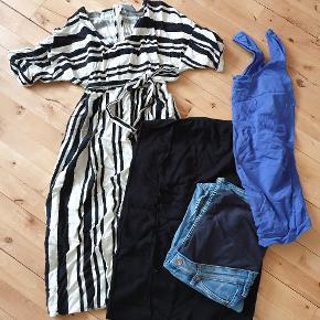Ventetøj, brugt få gange. En kjole, nederdel, top og et oar bukser.  Alt er str. S/36.