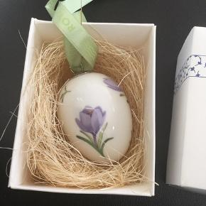 Royal æg i original æske i fin næsten ny stand  _1 sortering - samler objekt  2006 lilla krokus (1249 371) Mål 6 cm  Sender +Porto  #30daysselout
