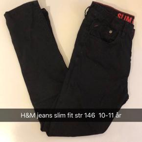 Sorte H&M slim fit jeans
