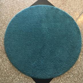 2 Blå/turkis rundt tæppe Sælges både samlet og enkeltvis