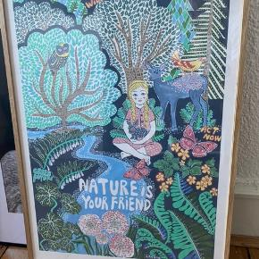 Lisa Grue plakat i træramme 50x70