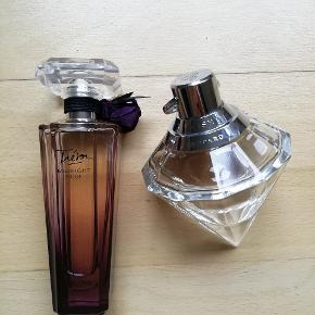 Lancome Treson Midnight Rose og Chopard Wish parfume