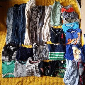 Kæmpe stor tøjpakke med mange dele - til kun 150kr