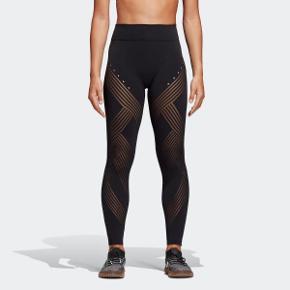 Adidas Warp Knit High-rise 7/8 tights.   Sælger disse super fede og lækre compressions, seamless tights med fedt hul mønster. De er maks brugt 2-3 gange og fremstår som helt nye. Fås vidst ikke mere.