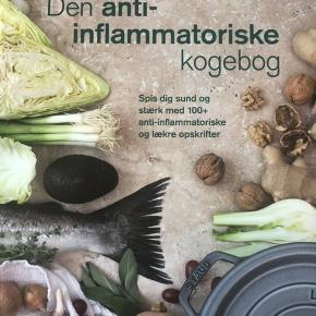 Den anti inflammatoriske kogebog af Anne Larsen, aldrig brugt.