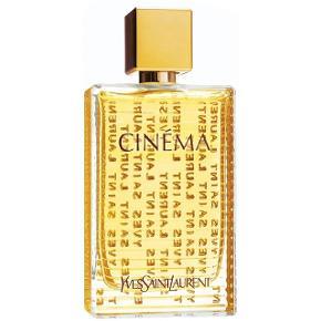 Cinema Eau de Parfum 90ml  Sensuel og blomstret og indeholder noter af vanilje, mandelblomst, klementin, amber, benzoin, jasmin, pæon, cyclamen, hvid musk og amaryllis.