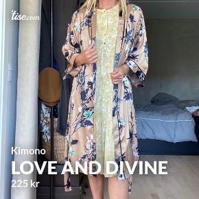 Love & Divine kimono