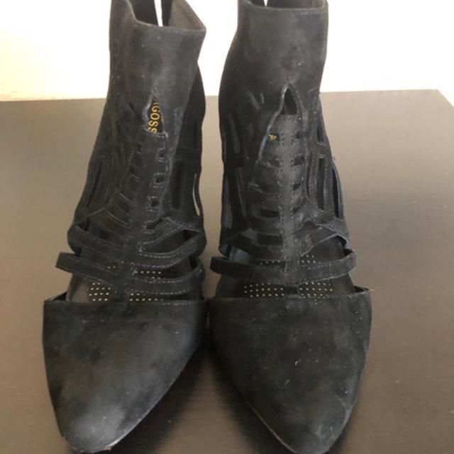 PULL&BEAR Højhælede sandaletter / Højhælede sandaler - brown