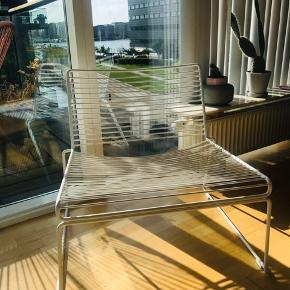 Hey lounge stol i hvid