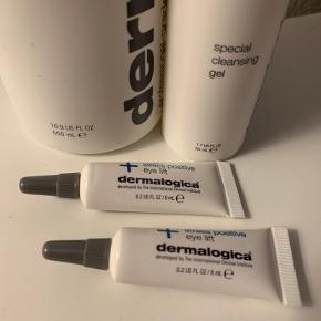 1 x Dermalogica Special Cleansing Gel 500 ml 1 x Dermalogica Special Cleansing Gel 50 ml 2 x 6ml. Dermalogica Stress Positive Eye Lift 1 x Dermalogica Active Moist 100 ml  Sælges samlet