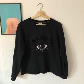 Dame Kenzo Eye Sweatshirt Str. XL, men svarer til str. M (meget lille i str.)  Np: 1400,-  BYD
