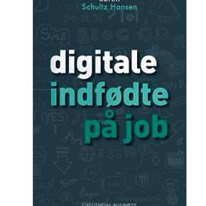 """Digitale indfødte på job  Nypris kr. 259.  KØB FLERE AF MINE BØGER OG FÅ RABAT  """"Digitale indfødte på job"""" behandler de problemer man kan stå med, når man enten leder eller samarbejder med unge. Unge mennesker, der er vokset op med internet, teknologi og sociale medier er digitale indfødte, som man kan lære at tage godt i mod med """"Digitale indfødte på job"""". Mange unge mennesker tjekker Facebook før deres mail og går mere op i deres netværk end i virksomhedens værdier. Hvis der skabes de rette rammer på kontoret får du innovative vidensarbejdere, men hvis du reagerer med rynkede bryn, får du måske en konflikt i stedet.  Søren Schultz Hansen har indsigt fra sin forskning og med konkrete eksempler giver han dig råd og redskaber til at opdatere din arbejdsplads, så de digitale indfødte bliver motiverede og udvikler sig."""