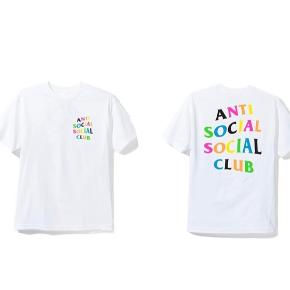 "ANTI SOCIAL SOCIAL CLUB  ""RAINY DAYZ TEE""   S/S 2018  NO FLAWS OR STAINS  BYD, PRISEN KAN SAGTENS FORHANDLES  FREE SHIPPING"