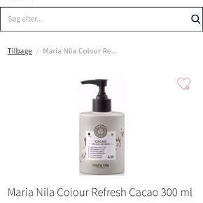 Maria Nils colour refresh i farverne cacao, cacao intense og sand. De er nærmest ikke brugt.  Sælges enten sammen eller hver for sig.    Mængderabat gives.