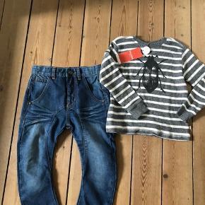 Nye pompdelux bukser og friends bluse sælges samlet for 75 kr