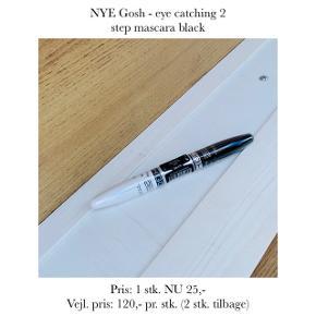 NYE Gosh - eye catching 2 step mascara black   Pris: 1 stk. NU 25,- Vejl. pris: 120,- pr. stk. (2 stk. tilbage)