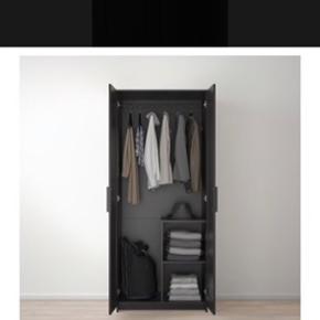 Garderobe skab fra Ikea. Skal afhentes.   Bredde: 78 cm Dybde: 50 cm  Højde: 190 cm
