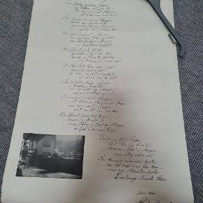 Holger Drachmann digt.