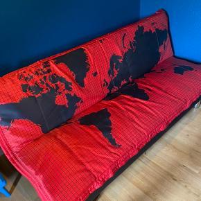 En sej sovesofa  110x200cm