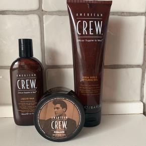 Crew  3 lækre hårprodukter, alle er fullsize 📌  Tjek også mine andre tilbud 🤩