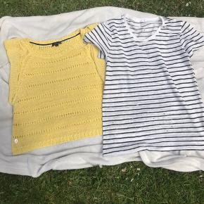 Den gule er fra Margit Brandt str xl den anden fra mache str l