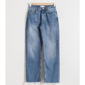 Straight jeans med høj talje i str 29.