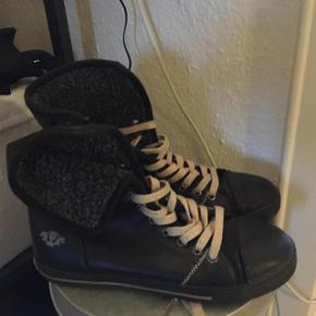 Cult fede sorte støvler str 37