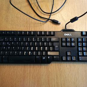 Dell tastatur. Brugt, men fungerer som det skal. Sendes gerne. Køber betaler fragt