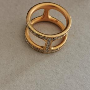 Julie Sandlau Linea Double ring i str 58 sælges    #30dayssellout