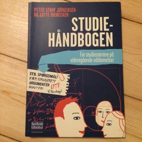Studiehåndbogen - Peter Stray Jørgensen og Lotte Rienecker.  Ingen overstregninger Np: 270 BYD