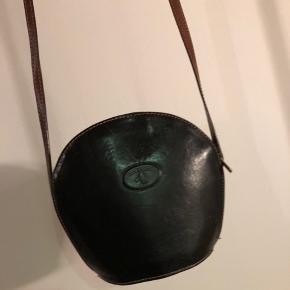 Vintage lædertaske.