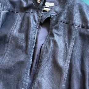 Suit skind- & læderjakke
