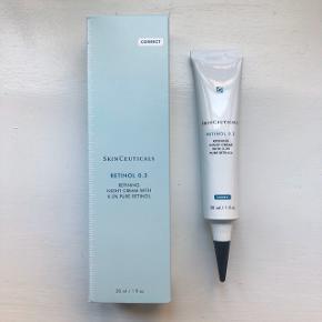 SkinCeuticals Retinol 0.3 Åbnet for under to uger siden og brugt en enkelt gang.   Sælges kun da jeg har fået mulighed for at bruge en retinoid-creme i stedet.  Kan eventuelt afhentes nær Forum St. og Søpavillonen 🌸