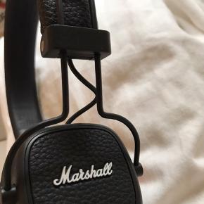 Marshall Major høretelefoner  Brugt meget få gange  Fremstår som helt nye  Np. 649