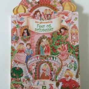 Stor folde ud bog med feer og prinsesser