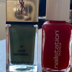 Ysl jade imperial og Nailstation Christmas kiss
