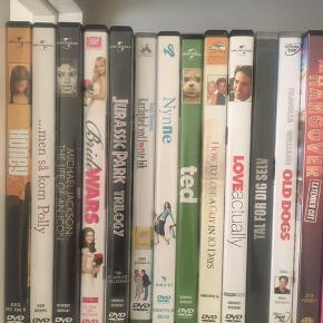 Forskellige DVDer 20 kr stykket ☺️🎉