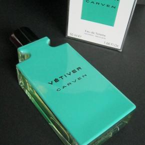 """Varetype: Ny """"Vetiver"""" EDT Størrelse: 50 ml/49ml fyldt. Farve: - Oprindelig købspris: 500 kr."""