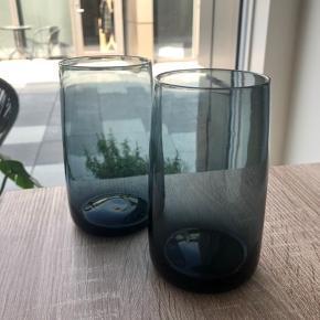 Helt nye Emma stelton vand glas aldrig brugt  Fået i gave trode det var vaser