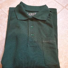 Langærmet polo T-shirt fra Kansas. Ny. Sender gerne ved køb for mere end 150 kr.  # arbejdstøj # kansas