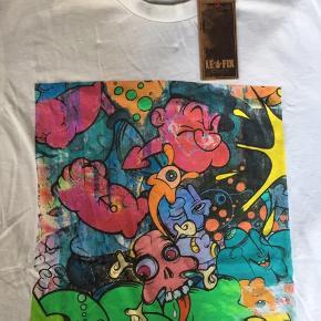 Le Fix t-shirt lavet i samarbejde med en street art kunstner