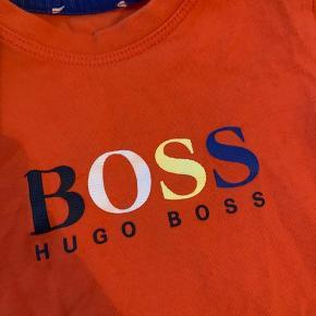 Orange HUGO BOSS tshirt til børn str 92