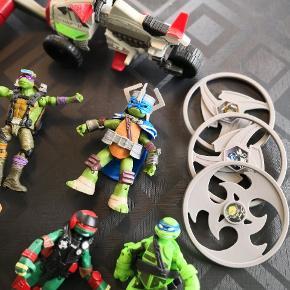 Turtles. Sælges samlet