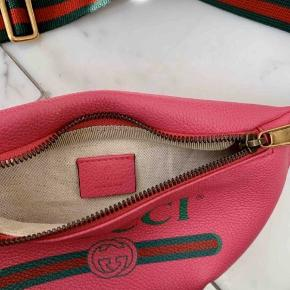 Gucci bæltetaske i pink, købt på Vestiaire - æske og ægthedsbevis medfølger