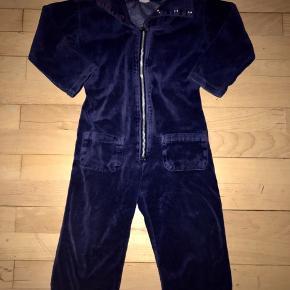 Katvig buksedragt heldragt 98 mørkeblå marineblå blå