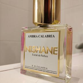 Nishane - Ambra calabria extrait de parfum 50 ml. Brugt meget lidt (se billede)  Nishane, niche