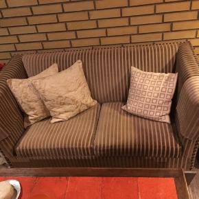 Retro sofa sælges BYD Matchende stol sælges også