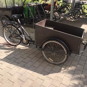Ladcykel til salg  Brugt men i fin stand!  Mangler lidt kærlighed :)  Endelig kom med BYD