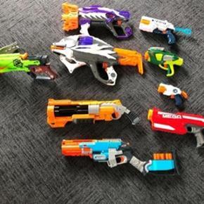 Samling af Nerf Guns sælges  Enkeltvis eller samlet